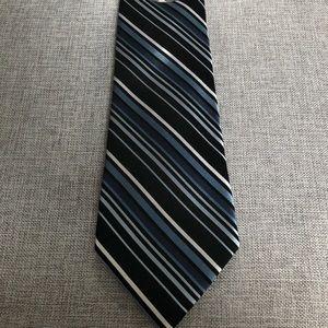 croft & barrow Accessories - Croft & Barrow Black and Navy Men's Tie